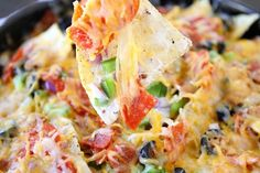 Pizza Nachos-