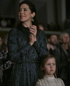 1 December 2016 - The Danish Royal Family attends the premiere of the ballet 'The Nutcracker' at Tivoli Concert Hall in Copenhagen - coat by Oscar De La Renta, shows by Valentino