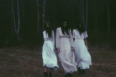 The past comes to haunt us, the threee sisters live on today, the serial killer, the necromancer and the cursed