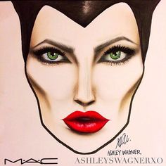 Image result for maleficent makeup