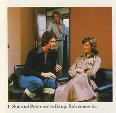 Sue, Peter and Bob