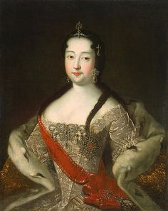 Anna Petrovna by I.Adolsky (after Hermitage) - Grand Duchess Anna Petrovna of Russia - Wikipedia Catherine The Great, Peter The Great, Russian Painting, Russian Art, Adele, European Dress, Louvre, Princess Anna, Hermitage Museum
