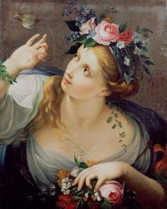 Sebastiano Mazzolino - An Allegory of Spring, 1800