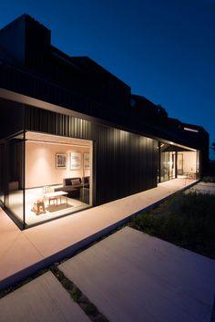 Studio Prototype slot volumes together to form Villa Schoorl Container Architecture, Sustainable Architecture, Architecture Design, Minimalist Architecture, Villas, Decoration Shop, Dutch House, Residential Interior Design, Minimalist Living