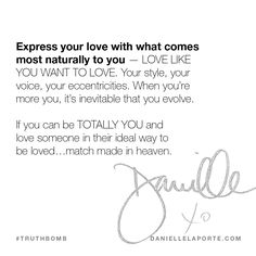 This #Truthbomb came from my post: Lovevolve Lovevolve Lovevolve. Click to read the full post.