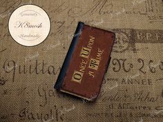 Once Upon A Time Inspired Wallet Case for iPhone 4 / 4s door K8Mosh, $22.00