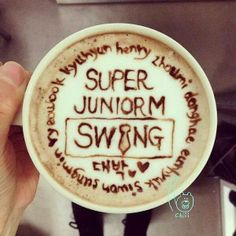 Super Junior - M SWING's Coffee