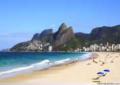 Just visited Brazil for the 1st time...wish I could wake up to this beach (Ipanema) every morning!