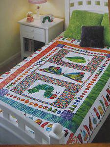 Very Easy Quilt Patterns | The Very Hungry Caterpillar Quilt Pattern Easy | eBay