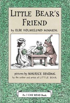 Little Bear's Friend Book and Tape by Else Holmelund Minarik, illustrated by Maurice Sendak Maurice Sendak, I Can Read Books, Used Books, George Orwell, Neil Gaiman, Lund, Aladin, Friend Book, Animal Books
