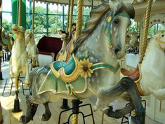 Carousel Center Carousel at the Carousel Center Mall, Syracuse, NY (by Ann Lioio)