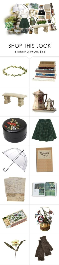 """""""el jardín de las palabras"""" by pjm095 ❤ liked on Polyvore featuring Brandy Melville, ASOS, Marc Jacobs, Nandina, Tommy Hilfiger, Totes, Ichiban, Shandell's, Mottahedeh and Grace"""