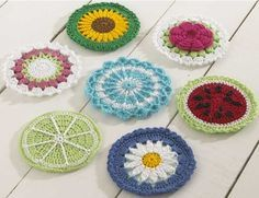 CD Coasters Set 1 Crochet Pattern