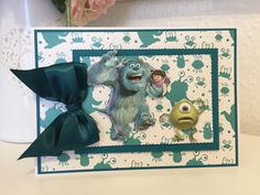 Disney Monsters, Monsters Inc, Lace Design, Frame, Cards, Inspiration, Color, Picture Frame, Biblical Inspiration