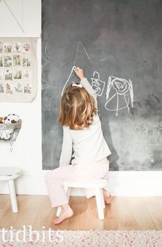 Add a chalkboard to