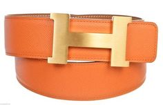 Hermes And Gold Epsom Leather Constance H (size 85) $1,814