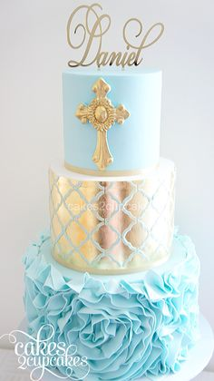 Special custom made cakes for baby showers and christenings.