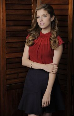 Anna Kendrick. Love her in Pitch Perfect! The Cup Song is my fave.