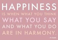 Inspirational Quotes About Happiness -  I believe in this so much!