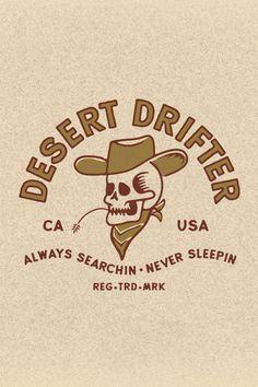Work by Wildwood Design Co. Identity Design, Logo Design, Typography Design, Desert Art, Desert Life, Fallout New Vegas, Wall Collage, Graphic Design Inspiration, Art Inspo