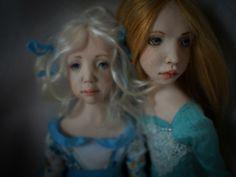"""Two A."". Handmade OOAK dolls. #romantic #wonders #doll #OOAK #home #decor #decoration #art #artwork #artdoll #silk #polymer #clay #homemade #handmade #greece #oneofakind #χειροποίητο #πηλος #πολυμερικος #διακοσμηση #σπιτι #κουκλα #τεχνη #πολιτισμός #кукла Ooak Dolls, Art Dolls, Romantic, Disney Princess, Disney Characters, Unique, Handmade, Hand Made, Romance Movies"