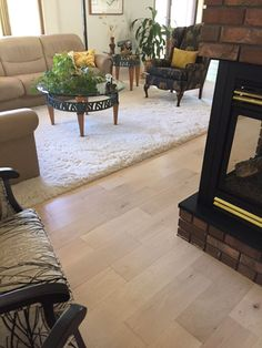 Moderno White Plains Engineered Hardwood Flooring Installation in Montana  #hardwood #floors #engineered