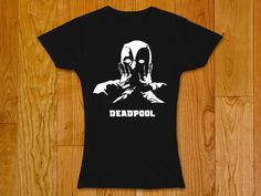 Deadpool surprised  Woman t-shirt  New Deadpool by GeeksDragons