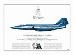 "F-104S ASA ""25 anniversary of F-104 operation"" by 102°Stormo Rimini"