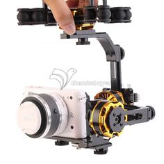DYS 3 Axis Brushless Gimbal Mount Stand Support with 3 Motors for NEX ILDC Camera FPV Photography