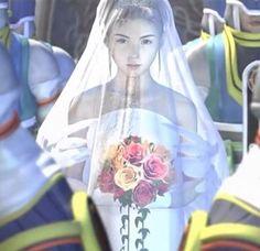 Yuna In Wedding Dress FFX