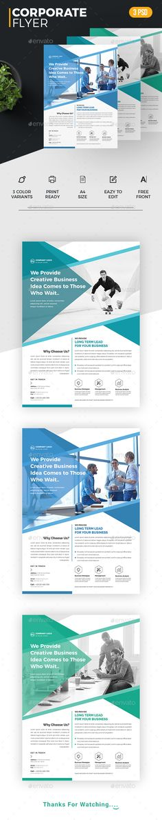Creative Corporate Flyer Psd Template  Layout Design Inspiration