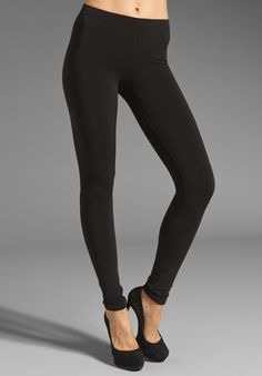Check out our NEWLY designed Fleece-lined Leggings! Ultra thin, but still fuzzy and warm on the inside :) Fall's new MUST HAVE item!  Plush Matte Spandex Fleece Lined Legging in Black