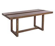 Tavolo in acacia massiccio Dalton - 175x75x90 cm