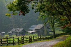 The homestead at Twin Falls State Park in Wyoming County.