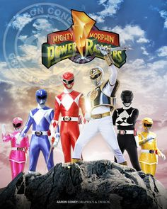 Mighty Morphin' Power Rangers Print (Season 2-3)