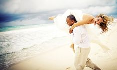 Beach Wedding Dress and photo idea