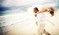 Beach Wedding Dress and photo idea