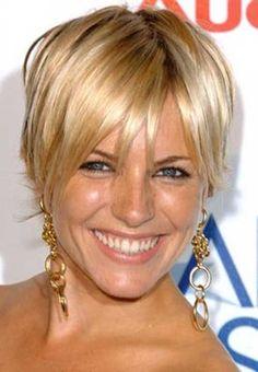 11.Short de pelo para mujeres mayores de 40