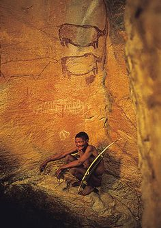 UNESCO World Heritage Site. The site features more than rock art paintings in the Kalahari Desert. Archaeological records provide evidence of human and environmental activities ranging over years BelAfrique Out Of Africa, West Africa, South Africa, Ancient Art, Ancient History, African Countries, World Heritage Sites, African Art, Rock Art