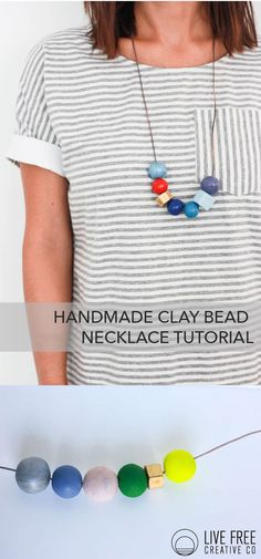 Handmade Clay Bead N
