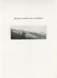 Gérard de Palézieux, Pétrarque
