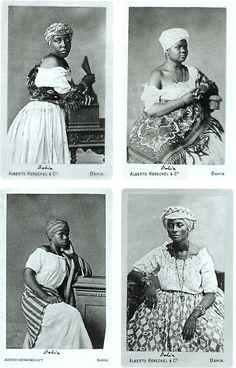 Alberto Henschel - Negras da Bahia
