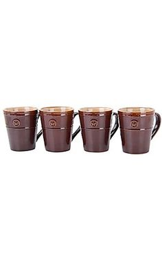 M Western Products® Silverado Brown and Tan 4 Piece Mugs | Cavender's Boot City