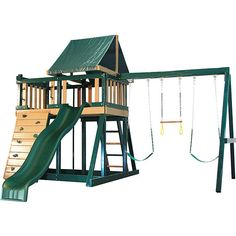 Product Information  Original Price: 2,997.91  This Outdoor Play Swing Set Kids…
