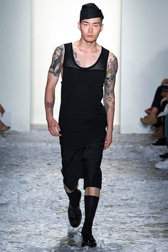 Dao-Yi Chow and Maxwell Osborne presented their Spring/Summer 2015 collection for Public School during New York Fashion Week.