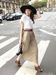All about the long skirt. by msochic