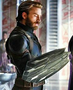 What was so wrong with the old shield? I don't like the new shield or the new look. It doesn't look like Captain America at all. It just looks like some gorgeous guy with a really weird prosthetic arm.