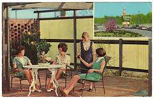 Holiday Inn, Meridian, MS Mississippi, motel, chrome postcard