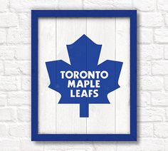 Toronto Maple Leafs rustic handmade hockey by thePaintedLlama Toronto Photography, Toronto Maple Leafs, Wall Signs, Wooden Signs, Fathers Day Gifts, Hockey, Leaves, Rustic, Rugby Quotes