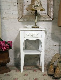 Painted Cottage Chic Shabby Romantic Night by paintedcottages, $120.00